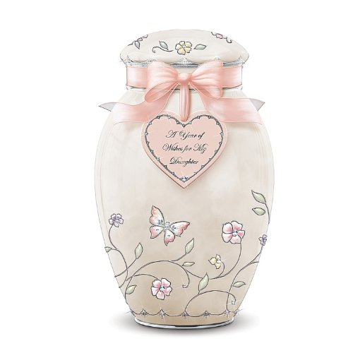 A Year Of Wishes Ginger Jar Music Box: Daughter Gift by Ardleigh ()