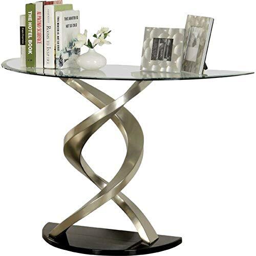 (Orren Ellis 3 Piece Glass Top Chrome Coffee Table Set + Free Basic Design Concepts Expert Guide)