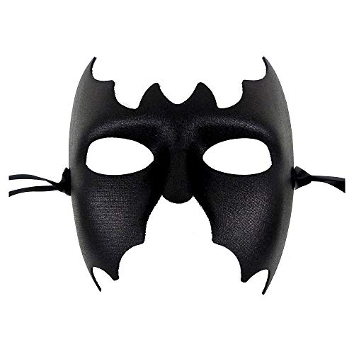Batman Mens Black Masquerade Mask - Italian Superior Quality from Samantha Peach]()