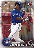 2016 Bowman Prospects #BP55 Vladimir Guerrero Jr. Baseball Card - His 1st Bowman Card!