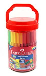 Faber-Castell Connector Pen Bucket (Pack of 50)