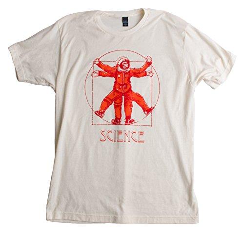 Ham the Vitruvian Space Chimp | NASA, Science, Astronomy Fan Unisex T-shirt