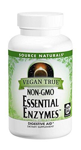 Source Naturals - Veganos no-GMO verdad enzimas esenciales ...