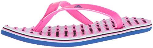 Adidas Kvinna Eezay Flip-flop Shock Rosa / College Royal / Aero Blå