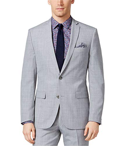 Bar III Mens Slim Fit Wool Sportcoat Gray 36R from Bar III