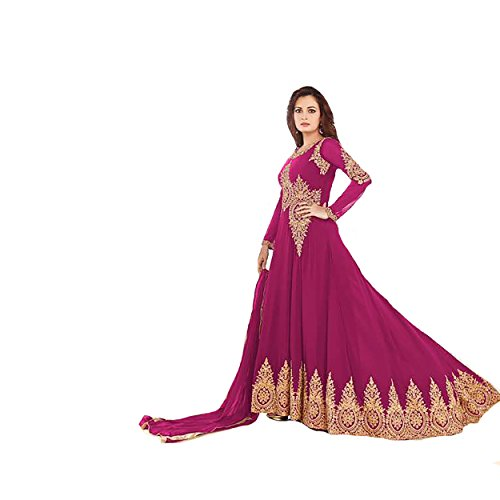 Eid Muslim Ethnic Straight Bridal Heavy Designer Women Hijab Indian Anarkali Salwar Kameez suit 9309 ykd1adXAm