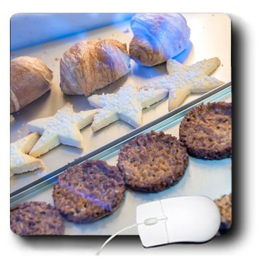 mp_188750_1 Danita Delimont - Lisa S. Engelbrecht - Food - Bakery pastries on display, Wertheim, Germany - Mouse Pads