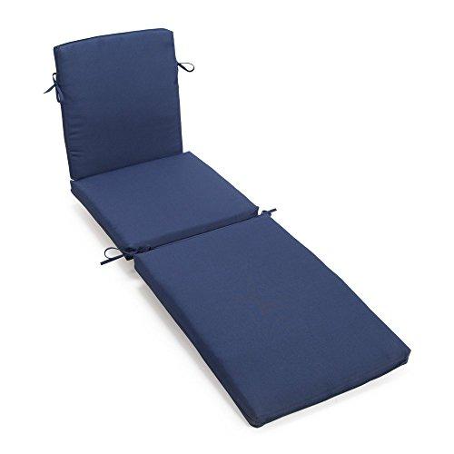 Coral Coast Classic 69 x 19.5 in. Steamer Chaise Lounge Cushion ()