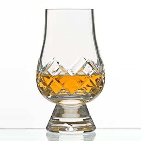 The Glencairn Cut Crystal Whisky Tasting Glass – Set of Two in Presentation Box