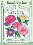 Zinnia, Cool Crayon Colors