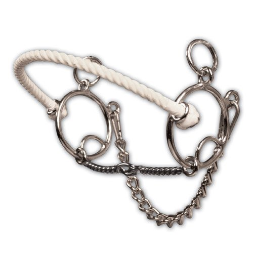 The Brittany Pozzi Collection by Professionals Choice Equine Twisted Wire Snaffle Bit   B0063Q69SC