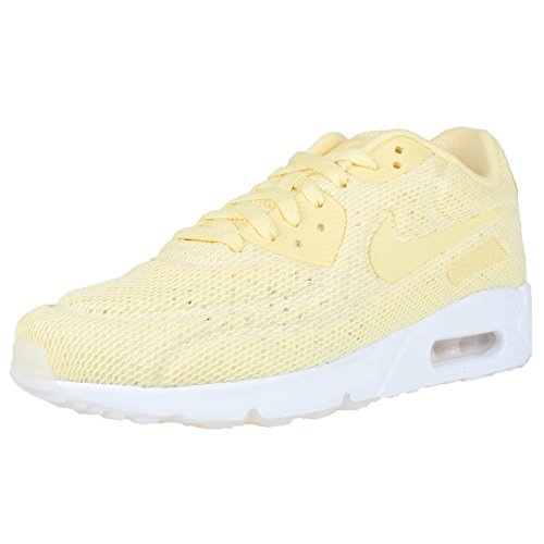 NIKE AIR MAX 90 ULTRA 2.0 ULTRA BR LEMON CHIFFON YELLOW BREATHABLE 898010 700 R671wpb2
