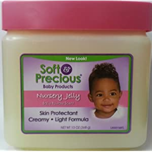 Soft Precious Baby Products Nursery Jelly Baby Powder Scent Skin Protectant Creamy 368g