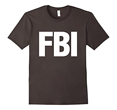 FBI Official Uniform Employees Work T-Shirt