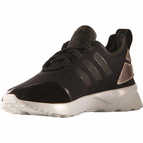 adidas Zx Flux Adv Verve W, Zapatillas de Running para Mujer core black/core black/copper metallic
