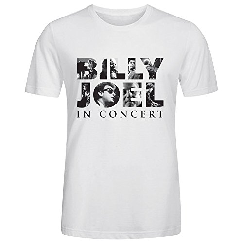 Billy Joel In Concert 2016 Men T Shirts White