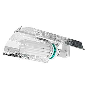 125W lámpara Cfl de 150W 200W 250W 300W vatios bombilla ala Reflector Lámpara de crecimiento de luz Kit (azul)