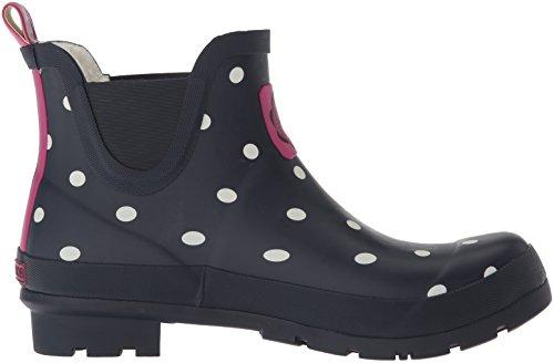 Boot Joules Wellibob Women's Spot Rain Navy t6qx7r6z