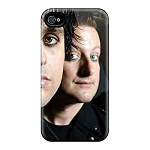 Protective Cell-phone Hard Covers For Iphone 4/4s With Provide Private Custom Beautiful Green Day Skin SherriFakhry