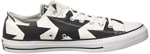 Converse Ctas Ox, Sandalias con Plataforma Unisex Adulto Multicolor (White/black/white)