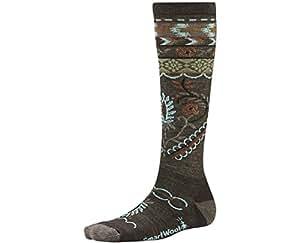 Smartwool Arrow Top Lifestyle Socks, Chestnut Heather, Small