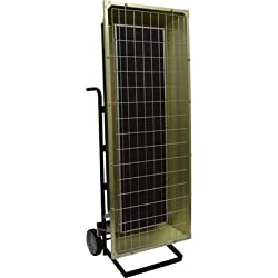 TPI Corporation FHK13483A Portable Electric Infrared Heater, Metal Sheath, Single or Three Phase, 13.5kW, 480V