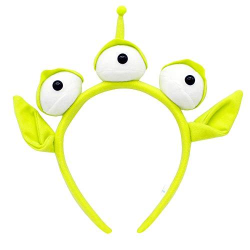 Mukola Toy Story Alien Headband Plush Eyeball