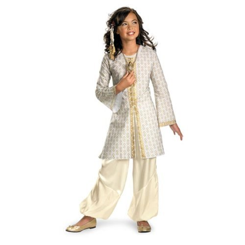 [Prince of Persia Deluxe Kids Tamina Costume by Disguise] (Prince Of Persia Tamina Costumes)