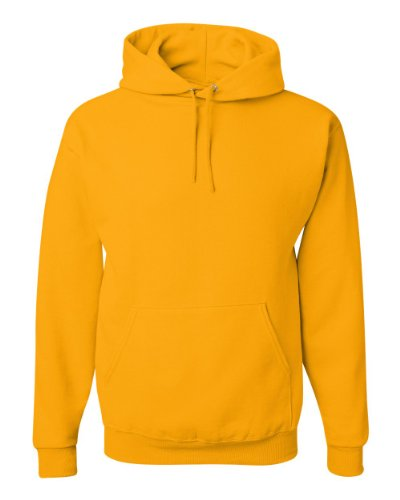 Jerzees Adult NuBlend® Hooded Pullover Sweatshirt - Gold - XL