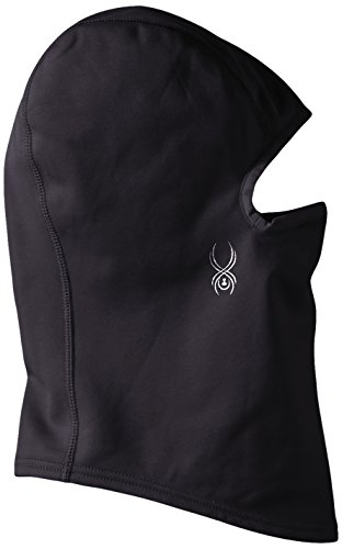 Spyder Women's Shield Fleece Pivot Balaclava, Black, One Size