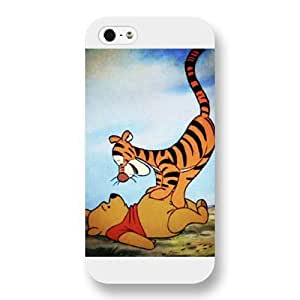 Disney Series For LG G3 Case Cover , Cute Cartoon Tigger For LG G3 Case Cover , Only Fit For LG G3 Case Cover (White Frosted Shell)