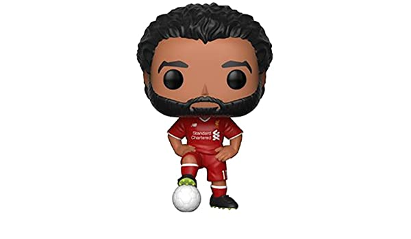 Amazon.com: Funko Pop Football Premier League: Liverpool - Mohamed Salah: Toys & Games