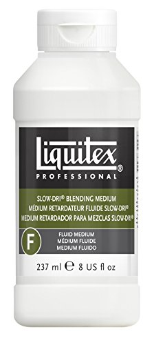 Liquitex Professional Slow-Dri Blending Fluid Medium, 8-oz (6308)