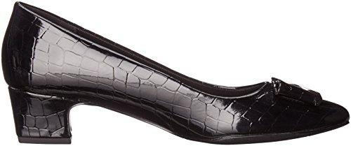 Easy Street Womens Wisteria Dress Pump Black Patent/Crocodile uQLJy