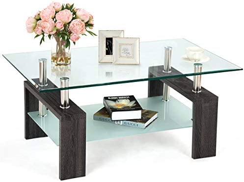 Safstar Glass Coffee Table