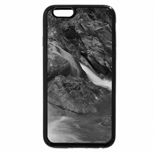 iPhone 6S Plus Case, iPhone 6 Plus Case (Black & White) - Waterfalls-of-Neelum-Valley