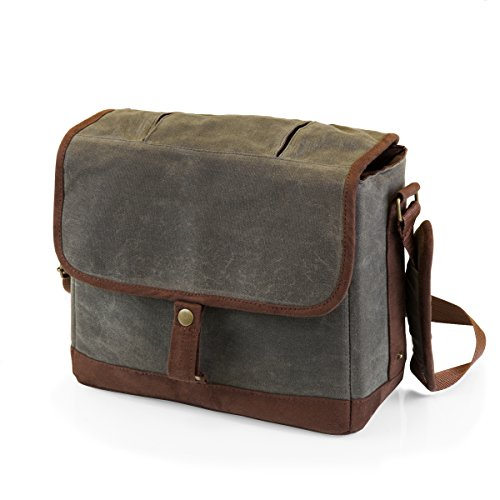 - LEGACY - a Picnic Time Brand Double Growler Insulated Tote, Khaki Green/Brown