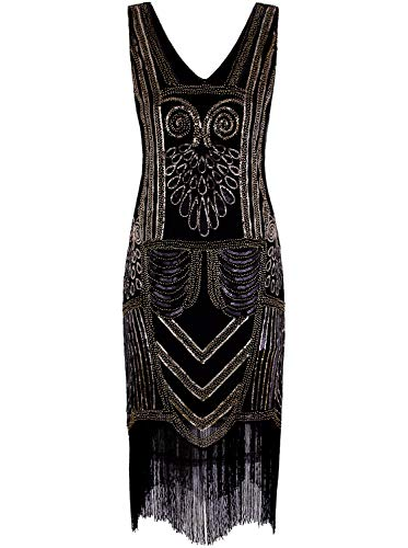 1920 Party - VIJIV Women's 1920s Flapper Dresses V