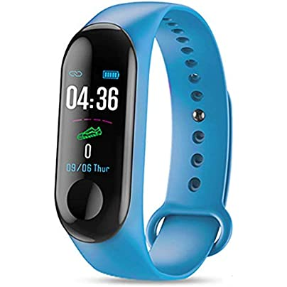 FKING Fitness Tracker Activity Tracker Touch Screen Heart Rate Blood Pressure Monitoring Pedometer Sports Smart Wristband Watch Estimated Price £16.55 -