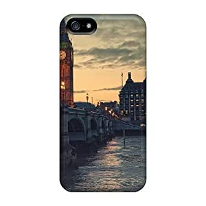 For Iphone ipod touch4 (london At Dusk) High-definition iphone Protective Cases case Runing's case