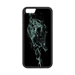 James-Bagg Phone case skull art pattern protective case For Apple Iphone 6 Plus 5.5 inch screen Cases FHYY463309