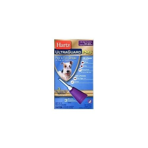 Hartz Flea & Tick Drops 3 CT (Pack of 12) by HARTZ