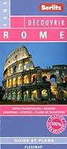 Rome - Plan plastifié de Rome et de son centre-ville par Berlitz