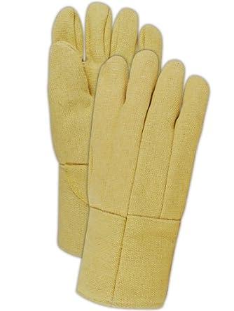 Magid GG1314WL - Guante de soldar de lana con forro de Kevlar de alto calor,