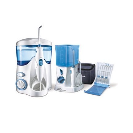 Waterpik Waterflosser Ultra and Waterpik Traveler Flosser plus 12 Accessory Tips & Tip Storage Case