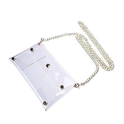 BESTOYARD Clutch Shoulder Bag Crossbody Bag with Chain Strap Handbag Purse for Women