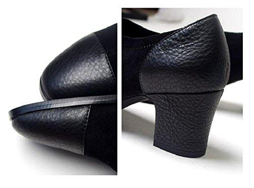 Inverno moda stivali corti pelle gioventù-ispirato Stivali donna scamosciata cuciture scarpe , 39