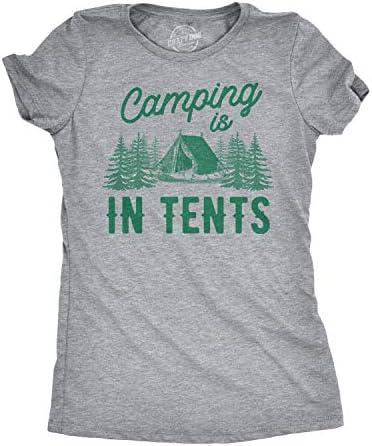 Tent Camping Camping Shirt Funny Shirt Funny Camping Shirt Walking Shirt Camping Gear Hiking Shirt Camping Tee Camping Chick