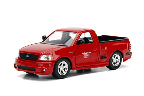 Jada Toys Fast & Furious Brian's Ford F-150 SVT Lightning, 1:24 Scale Die-Cast Vehicle, - Ford Diecast