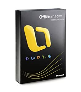 Microsoft Office for Mac 2008 Business Edition Upgrade [Old Version]